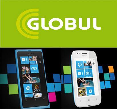 Nokia Lumia 800 Globul, Nokia Lumia 710 Globul