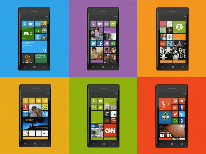 Windows Phone 8 Live Tiles