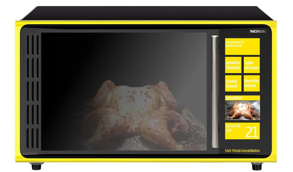 Nokia 5AM-TH1N6 Constellation - микровълнова със сензорен дисплей