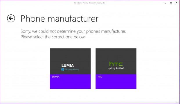 Windows Phone Recovery Tool